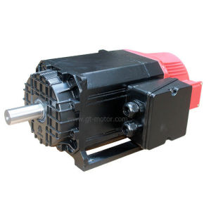 7.5kw~2500/6500rpm~Asynchronous Servo Motor (for CNC lathe milling drilling Machine) pictures & photos