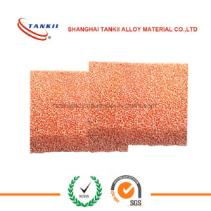 5mm Thickness Copper Metal Foam for Fuel Cell Research pictures & photos
