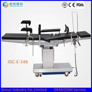 Hospital Use OT Extra Low Electric Multi-Function Medical Operating Table pictures & photos