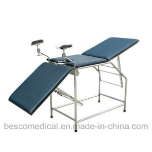 Gynecology Examination Bed with Back and Knee Adjustment (BES-HB060)