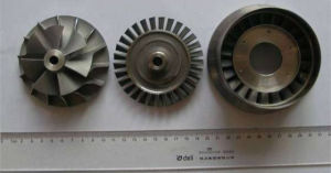 Turbo Jet Engine Parts Cast Turbine Impeller
