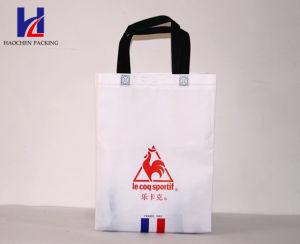 White Classic Portable Non-Woven Shopping Bag pictures & photos