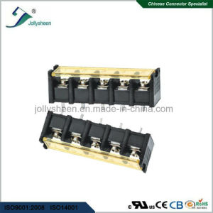6pin Barrier Terminal Blocks Straight Type with Clear PC Safety Cover pictures & photos