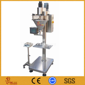 Semi-Automatic Milk Powder Filling Machine/Flower Powder Filler pictures & photos
