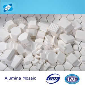 Alumina Abrasion Tiles, Mosasic