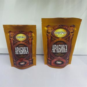 Coffee Packaging Stand up Zipper Bag
