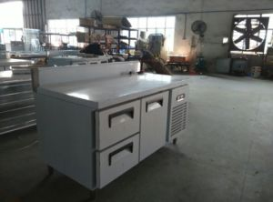Commercial Customized Stainless Steel Workbench Refrigerator pictures & photos
