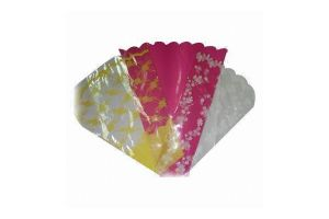 Clear Printed Fresh Flower Packaging Bags pictures & photos