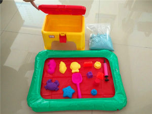 China Supplier Magic Sand Toys for Kids Indoor Sand