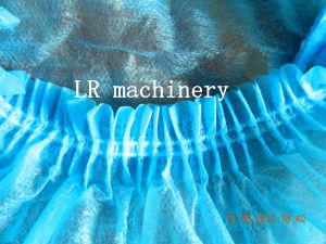 LR09B Non Woven Disposable Mop Clip Bouffant Cap Making Machine pictures & photos