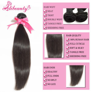 100% Real Human Hair Extension Virgin Peruvian Hair pictures & photos