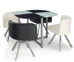 Meli London 1+4 Dining Table Set pictures & photos