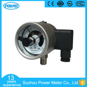 2.5′′ 63mm All Stainless Steel Electric Contact Manometer pictures & photos