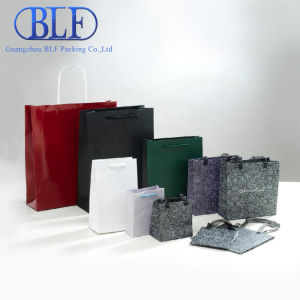 Different Types Custom Promotional Paper Bags Shopping pictures & photos