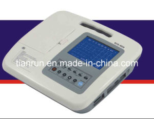 Three Channel Digital Electrocardiograph (ECG-1103L/1103LW) pictures & photos