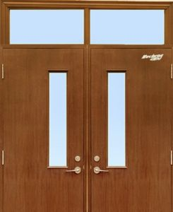 BS Standard Wooden Fire Rated Door with Attractive Price pictures & photos