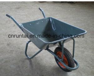 Hand Trolley Construction Steel Heavy Duty Wheelbarrow pictures & photos