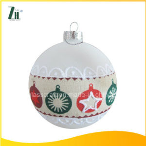 2016 Handicraft Glass Christmas Balls pictures & photos