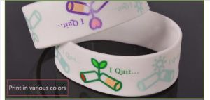 Silicone Wrist Band/Personalized Silicone Bracelet/Silicone Rubber Bracelet pictures & photos