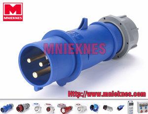 32A 2p+PE IP44 European Standard Industrial Plug (MN3301)