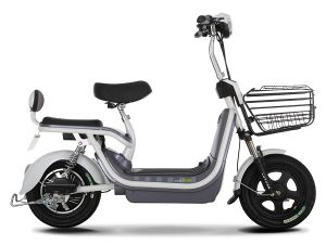 300W 48V12ah Lead Acid Battery Electric Scooter pictures & photos
