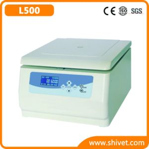 Veterinary Low Speed Centrifuge (L500) pictures & photos