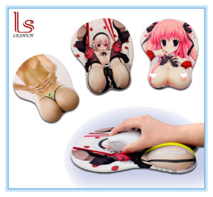 Sexy Girls Photos Big Breast Mouse Mat Wrist Rest Pad pictures & photos
