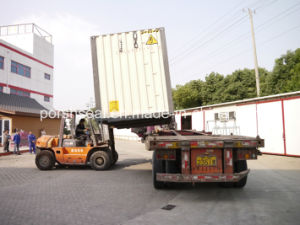 The Transportation Process of Container House