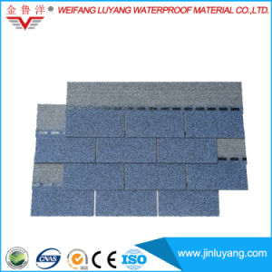 Fiberglass Waterproof Roof Tile High Quality Colorful Asphalt Shingle pictures & photos