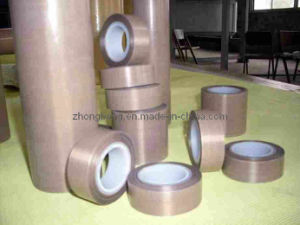 High Temperature Fiberglass PTFE Adhesive Tape pictures & photos