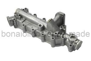 Hino Oil Cooler Cover H07D, J08c aluminum Casting Auto Parts pictures & photos
