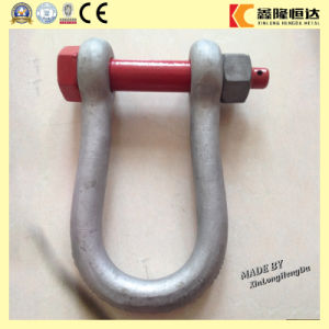 Factory Price Screw Pin Anchor U Shackle, Stainless Steel Shackle pictures & photos