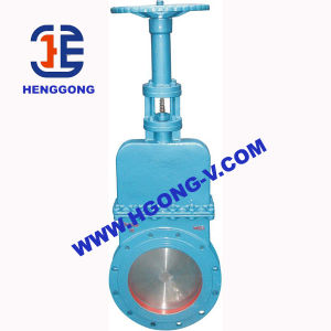 DIN/API Cast Steel Wcb Industrial Knife Gate Valve