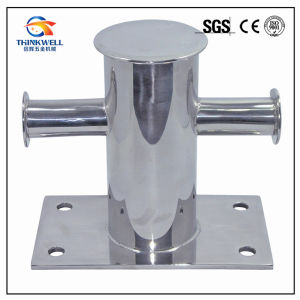 Marine Equipment Stainless Steel Mooring Bitt Cross Bollard pictures & photos