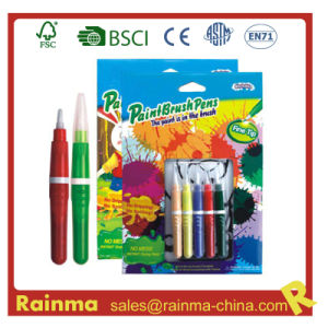 Watercolor Brush Marker Pen for Paint Stationery pictures & photos