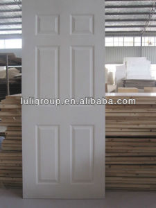 White Primer Moulded Door Skin pictures & photos
