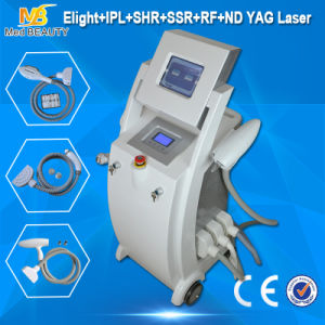 3 in 1 Handles Skin Tightening Skin Lifting Elight IPL/RF Bipolar RF ND YAG Laser Body pictures & photos