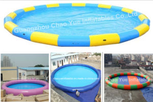 Custom-Made Inflatable Swimming Pool for Water Park (CYPL-1409) pictures & photos