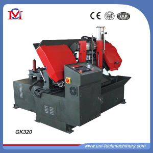 CNC Swivel Metal Band Saw From Manufacturer (GK-320) pictures & photos