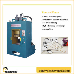 H Frame Hydraulik Press for Metal Embossing pictures & photos