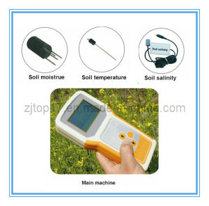 Soil Multiple Parameters Meter TZS-ECW (Temperature Moisture and Salinity) pictures & photos