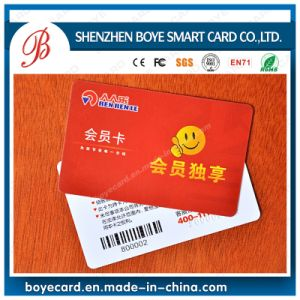 Contact Card with Barcode pictures & photos