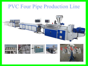 PVC Four Pipe Production Line with CE pictures & photos