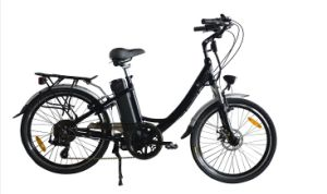 24 Inch Stepthrough Electric Bike for Lady (JB-TDH01Z) pictures & photos