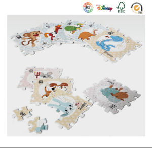 Small Paper Jigsaw with Tin Gift Box Packaging pictures & photos