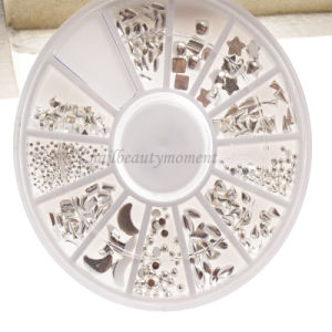 Manicure Nail Art Metal Beauty Decoration Wheel Products (D82) pictures & photos