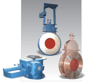 Hot-Blast Valve Hot Blast Gate Valve pictures & photos