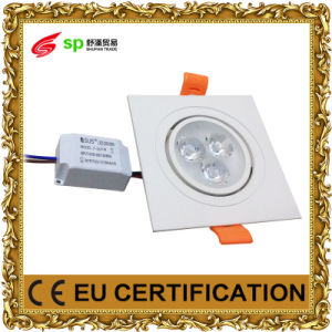 3W LED Lighting Panel Light Lamp Ceiling AC85-265V