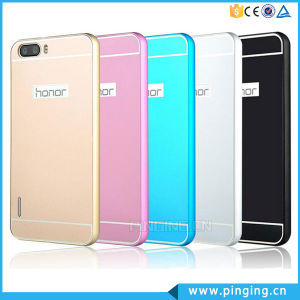 Luxury PC Metal Phone Case for Huawei P7/P8/P9 Lite pictures & photos