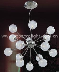 Decorative Glass Ball Indoor Halogen Pendant Lighting pictures & photos